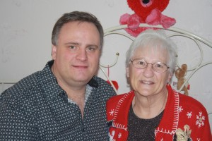 Christmas 2009, Mom and Me